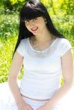 Beautiful woman outdoor Stock Photography