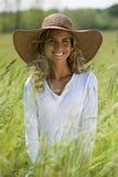 Beautiful Woman Outdoors Stock Photo