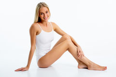 Beautiful woman with perfect figure Royalty Free Stock Image