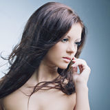 Beautiful woman with perfect skin Royalty Free Stock Images