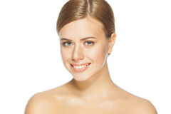 Beautiful woman with perfect skin Royalty Free Stock Photos