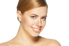 Beautiful woman with perfect skin Royalty Free Stock Image