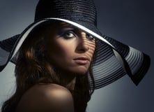 Beautiful woman portrait royalty free stock image