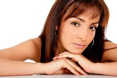 Beautiful woman portrait Royalty Free Stock Photos