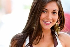 Beautiful woman portrait Royalty Free Stock Photography