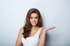 Beautiful Woman Portrait. Beauty Girl. Fresh Skin Stock Photos