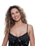 Beautiful Woman Portrait Cheerful smile Stock Image