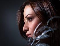 Beautiful woman portrait Stock Images