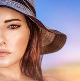 Beautiful woman portrait Stock Image