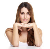 Beautiful woman portrait. Royalty Free Stock Image