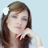 Beautiful woman, portrait Royalty Free Stock Photo