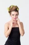 Beautiful woman portrait Royalty Free Stock Photography