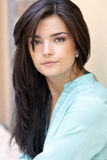 Beautiful woman. Portrait of beautiful woman outdoors Royalty Free Stock Image