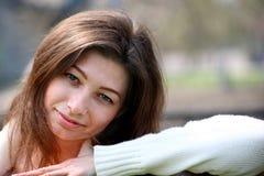 Beautiful woman portrait smiling Stock Image