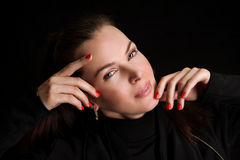 Beautiful woman Royalty Free Stock Images