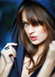 Beautiful woman portrait. Royalty Free Stock Photography