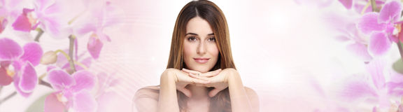 Beautiful woman portrait Royalty Free Stock Photo
