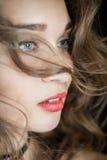 Beautiful woman portrait Stock Photos