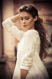 Beautiful woman portrait Royalty Free Stock Photos