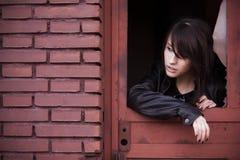 Beautiful woman portrait Stock Photography