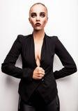 Beautiful woman pose in studio. Vogue style photo. Stock Photo