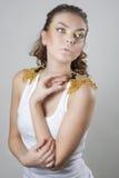 Beautiful woman posing Stock Photography