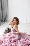 The beautiful woman posing. Royalty Free Stock Photos