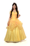 Beautiful Woman in Princess Costume Royalty Free Stock Photography