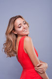 Beautiful woman with professional make up Royalty Free Stock Photo
