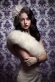 Beautiful Woman.Retro Style Stock Image
