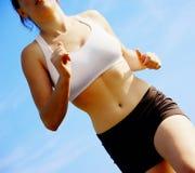 Beautiful Woman Runner Stock Images