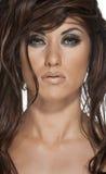 Beautiful Woman's Face Stock Photo