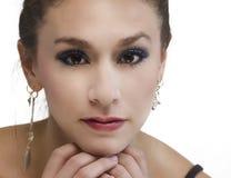 Beautiful woman's face Royalty Free Stock Photo