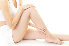 Beautiful woman`s legs Royalty Free Stock Photos