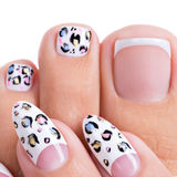 Beautiful woman's nails  with art design on the nails Royalty Free Stock Photography