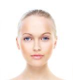 Beautiful woman's portrait Stock Photos
