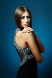 Beautiful woman in evening dress Royalty Free Stock Photo