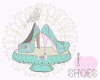 Beautiful woman shoes Stock Photo