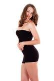 Beautiful woman in a short dress Stock Photos