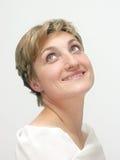 Beautiful woman smiling Royalty Free Stock Photos