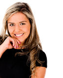 Beautiful woman smiling Royalty Free Stock Images