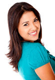 Beautiful woman smiling Royalty Free Stock Photography