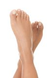 Beautiful woman smooth feet Royalty Free Stock Photos