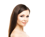 Beautiful woman with smooth skin Stock Photography