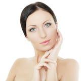 Beautiful woman, spa concept Royalty Free Stock Photos