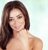 Beautiful woman at spa Stock Photo