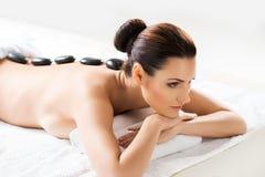 Beautiful woman on a spa procedure Stock Photos