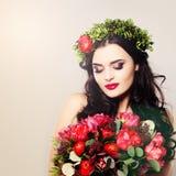 Beautiful Woman. Summer Portrait Stock Photo