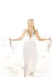 A Beautiful Woman in the Sun Stock Photos