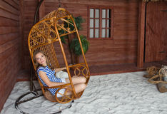 Beautiful woman sunbathing Royalty Free Stock Photography